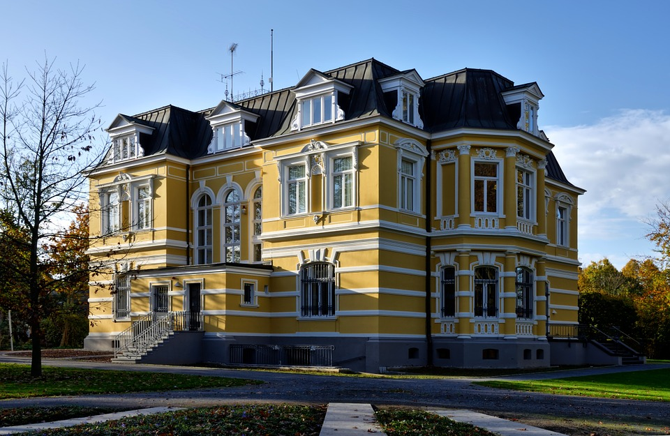 Erckens Villa, Architecture, Building, Historically