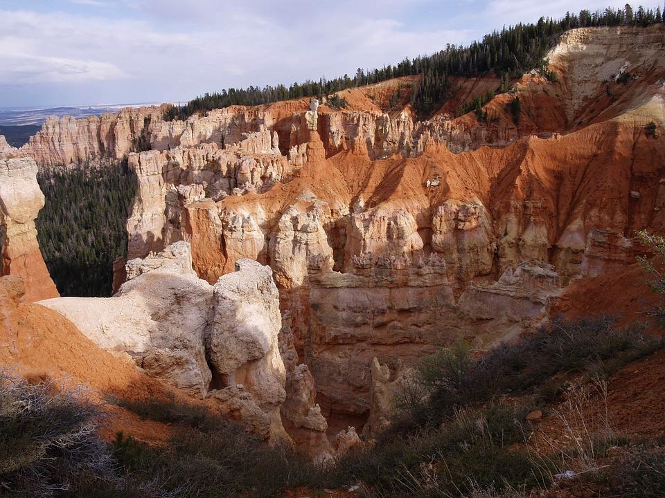 Bryce Canyon, Utah, Usa, Erosion, National Park