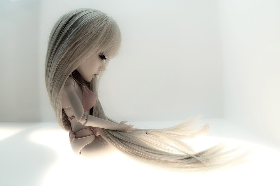 Doll, Long Hair, Alone, Forget, Broken, Lonely, Erotic