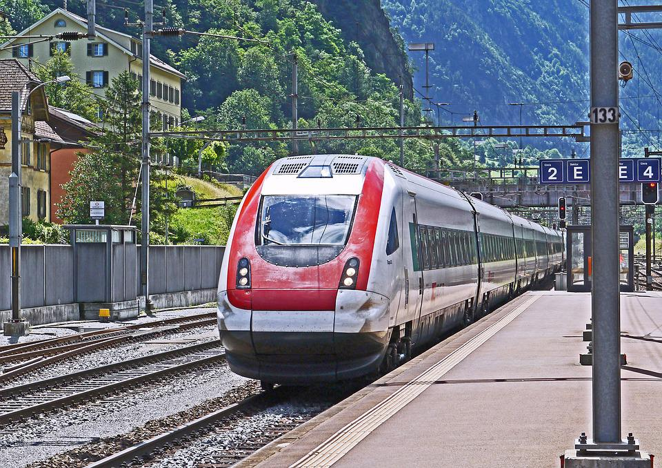 Ice, Milano-zurich, Gotthard, Erstfeld, Transit
