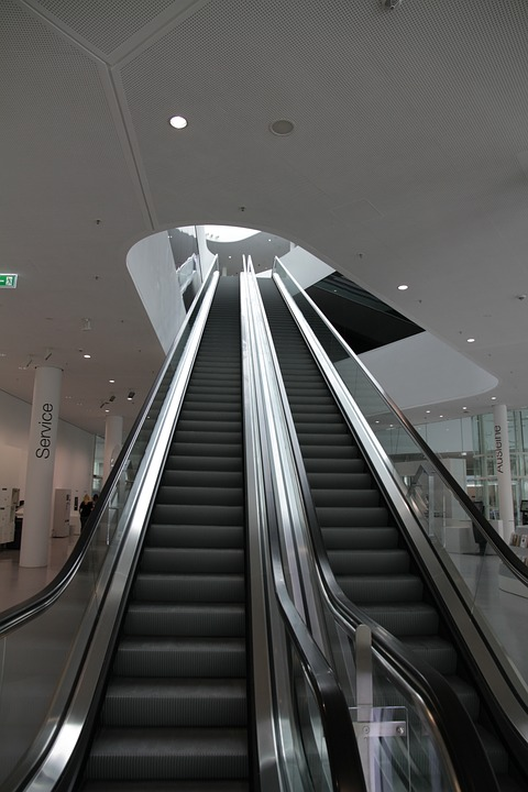 Superbe Escalator, Moving Stairs, Modern, Architecture