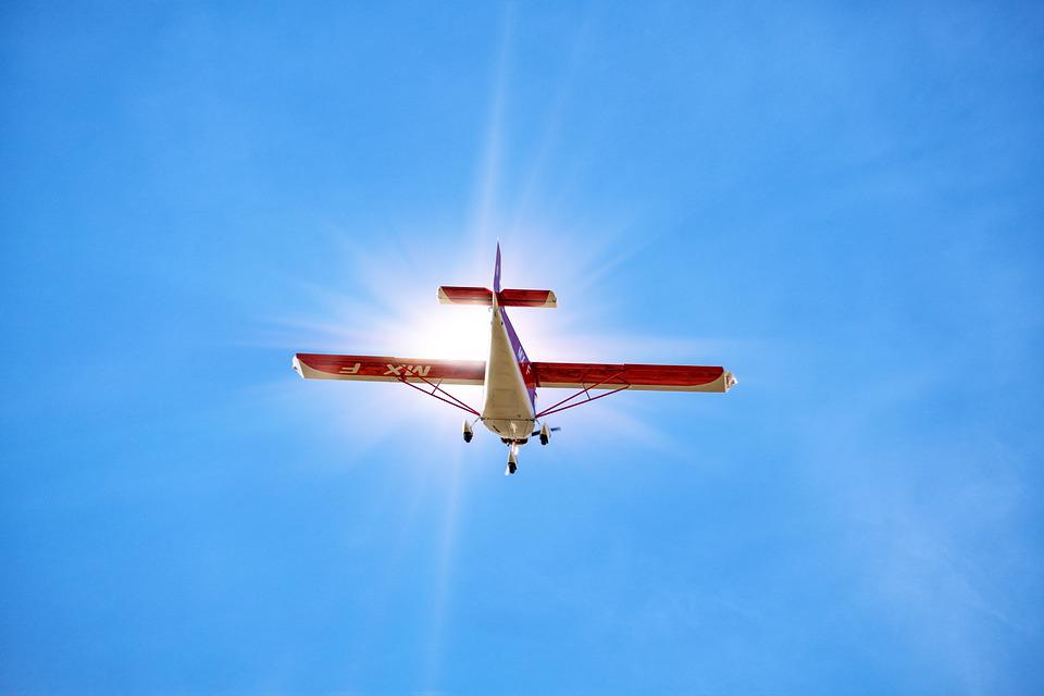 Aircraft, Flying, Aviation, Escape, Sky, Sun, Dreams