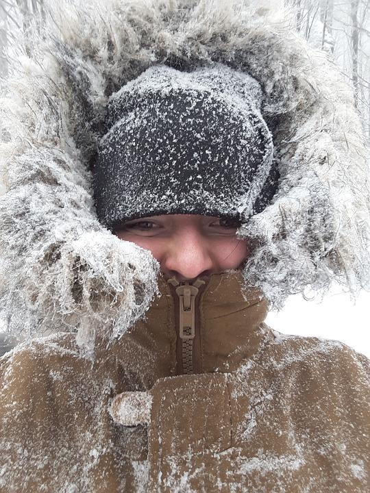 Winter, Snow, Flakes, Girl, Snowy, Icing, Rime, Eskimo
