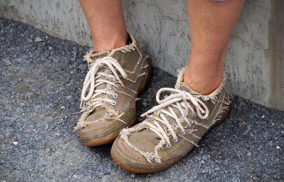 Boots, Espadrilles, Shoes, Textile, Model, Sneakers