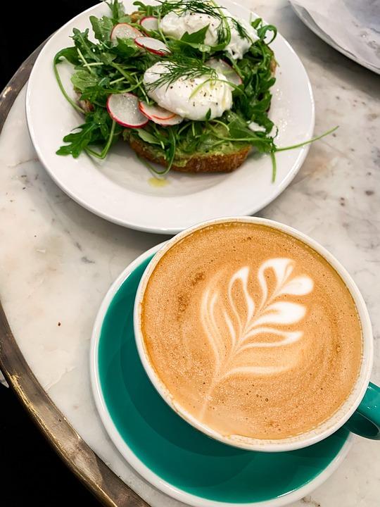 Cappuccino, Coffee, Cafe, Espresso, Avocado Toast