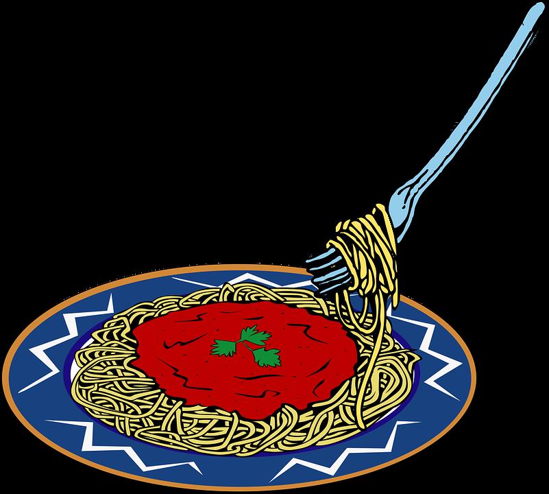 Essen, Food, Noodle, Plate, Spaghetti, Teller