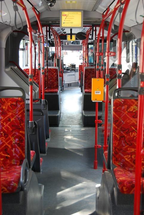 Backseat Evag Bus, Eat, Essener Verkehrs Ag