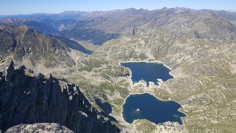 Estany, Views, Mountain, Andorra, Mountain Landscape