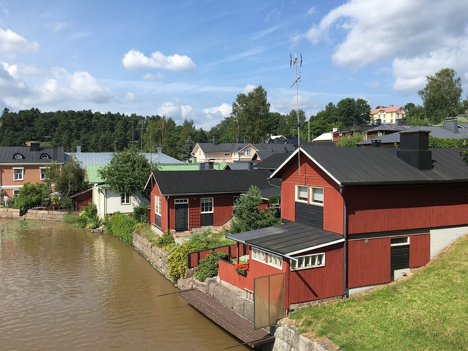 Home, Countryside, House, Landscape, Building, Estate