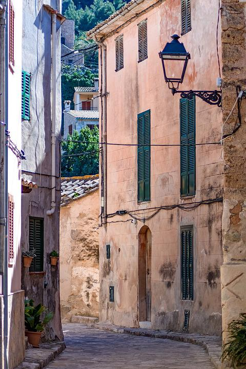 Mallorca, Estellencs, Alley, Architecture, Old, City