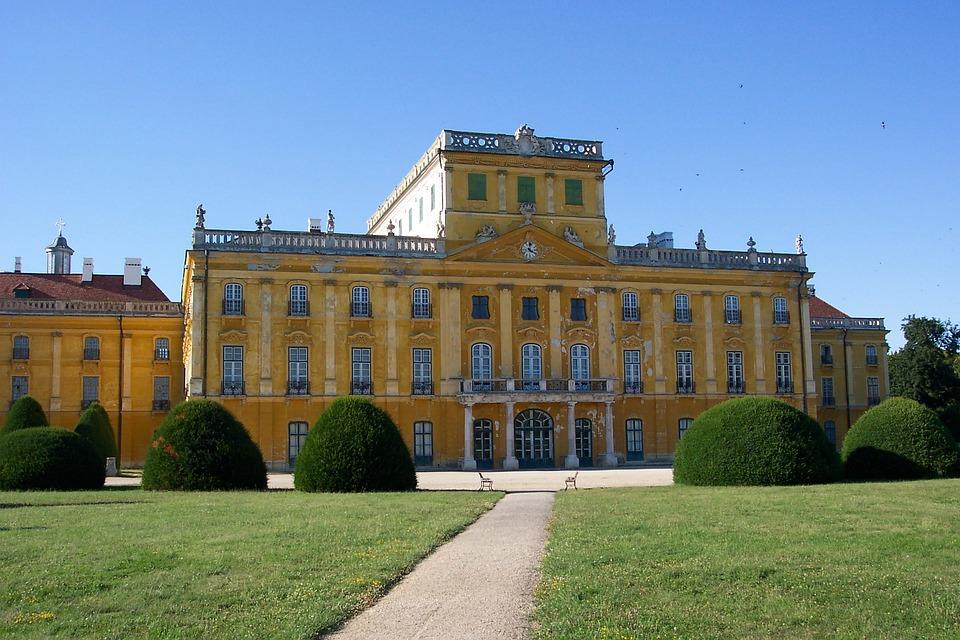 Esterházy Palace, Esterhazy Castle, Fertőd, Castle
