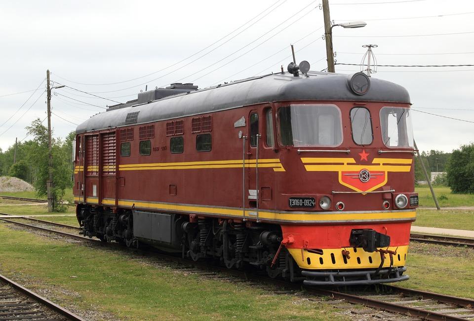 Estonia, Haapsalu, Railway, Museum, Train, Locomotive