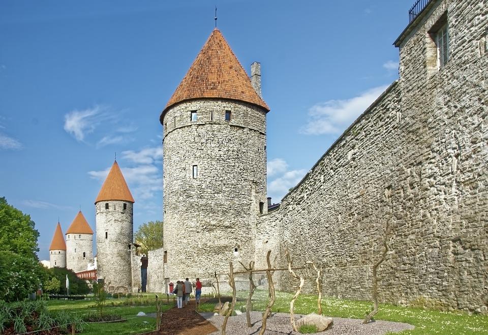 Estonia, Tallinn, Historic Center, City Wall