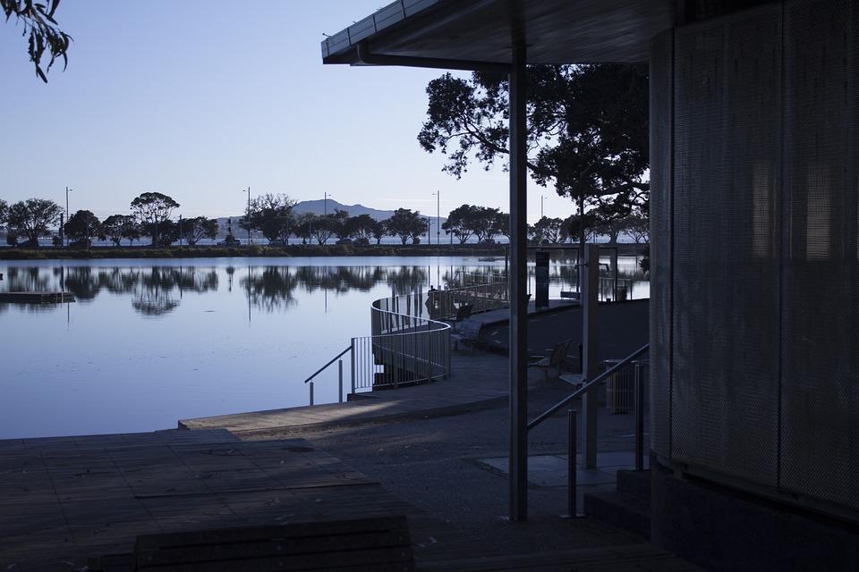 Estuary, Public, Bathroom, Nature, Outdoors