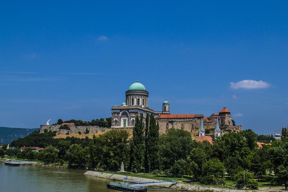 Basilica, Esztergom, Hungary, Hdr, Church, Danube