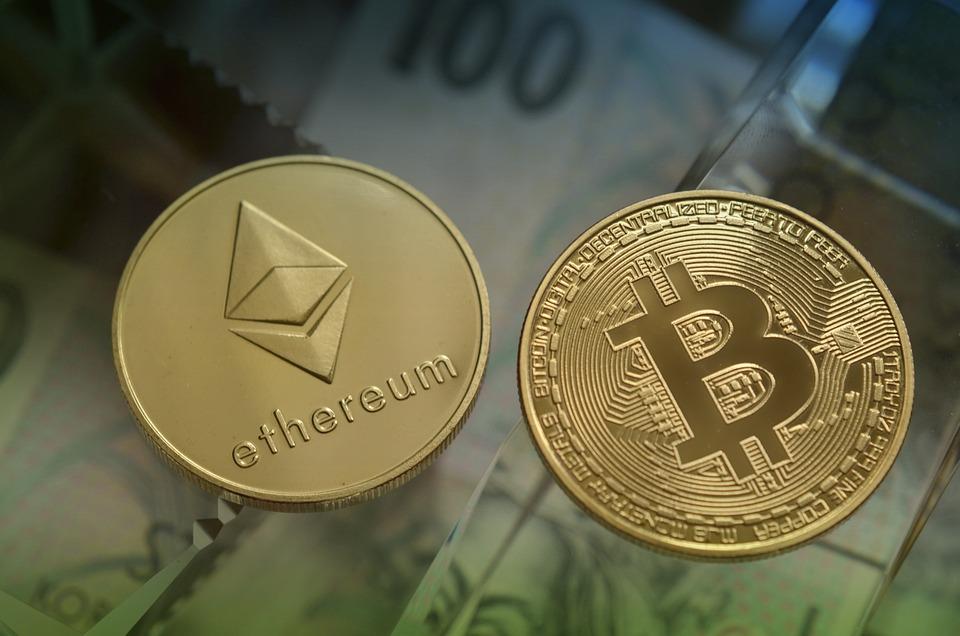 Ethereum, Bitcoin, Cryptocurrency, Coins, Btc, Eth
