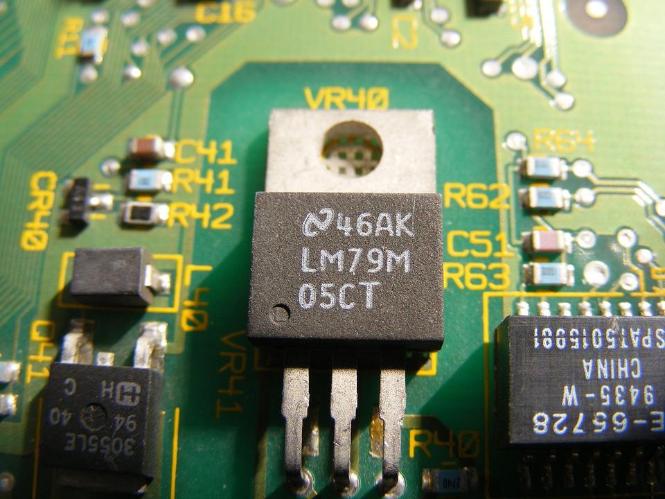 Transistor, Chip, Electronics, Bnc, Etherlink, Isa
