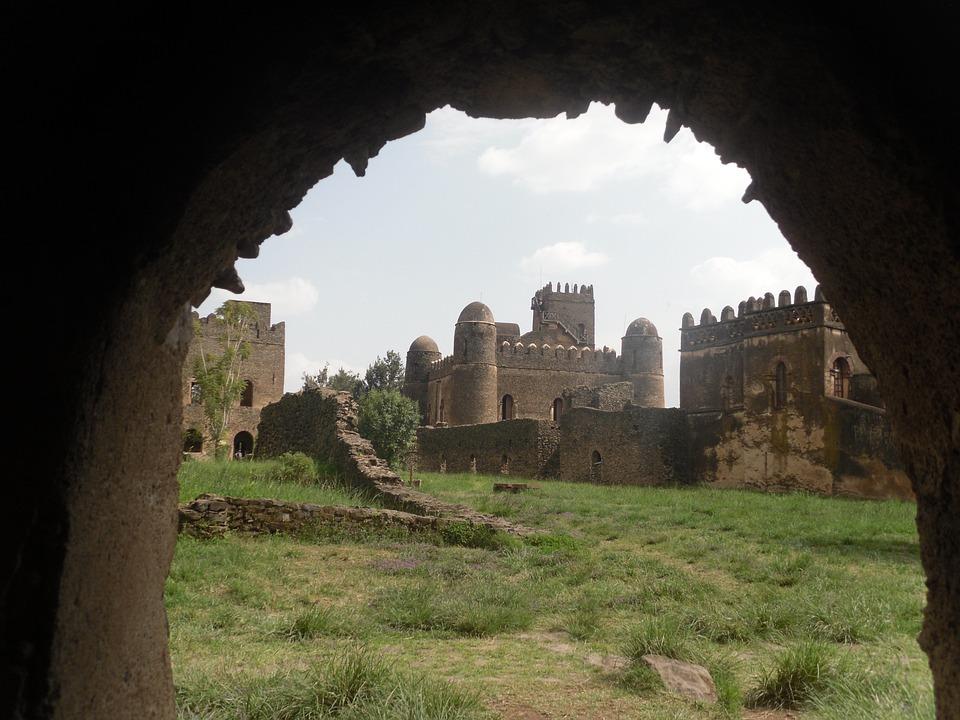 Gonder, Castle, Ethiopia, Landmark, Culture, Ruins, Old