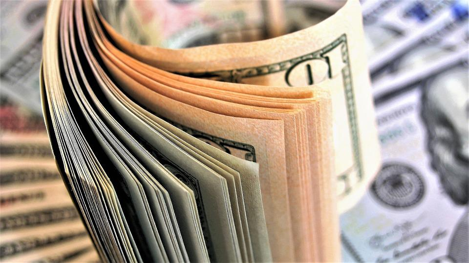 Counting, Euro Banknotes, Business, Paper, No One