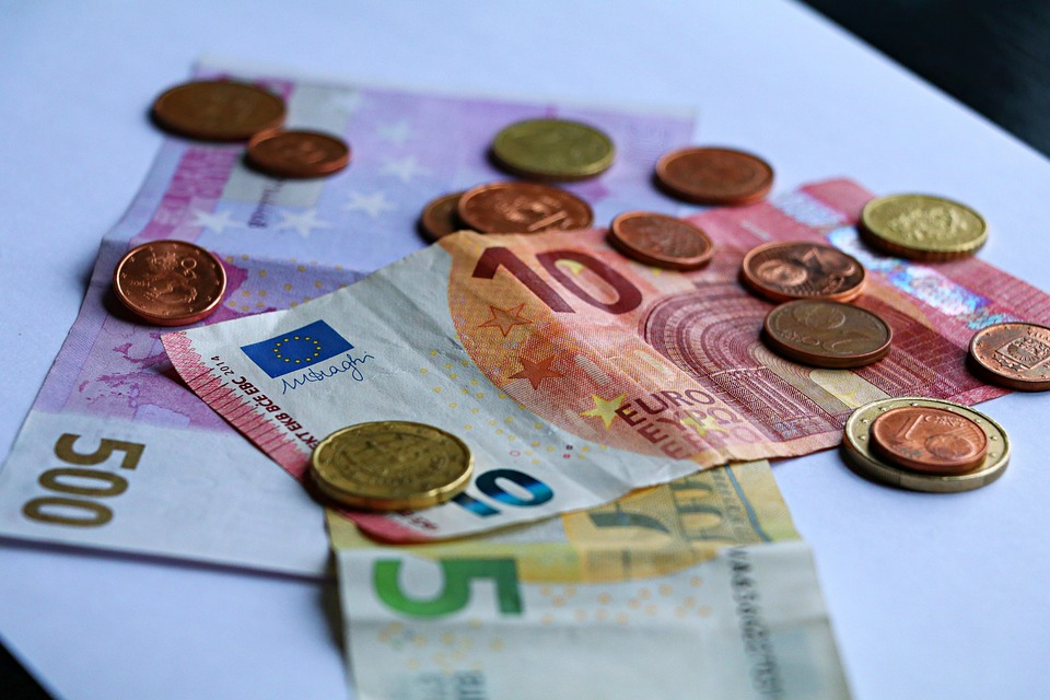 Money, Euro, Currency, Europe, Business, Coins, Cash