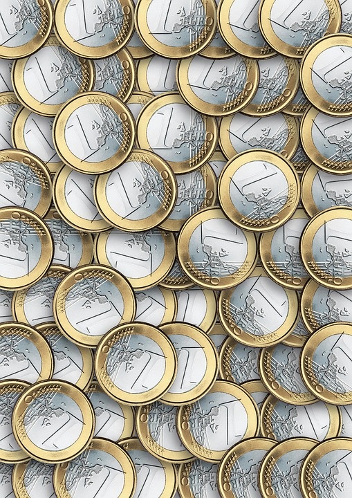Money, Coins, Euro, Europe, Financial Services Funds