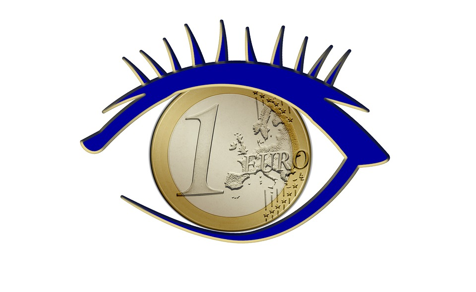 Eye, Euro, Currency, Europe, Money, Euro Sign, Finance