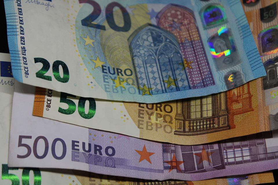 Bank Note, Euro, Currency, Finance, Paper Money, Seem