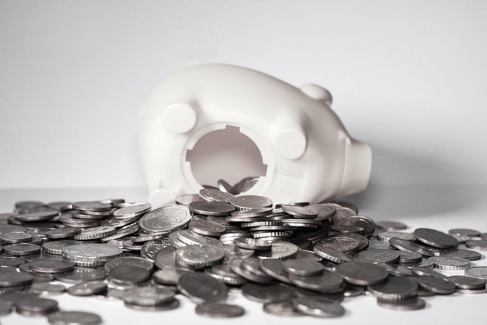 Money, Piggy Bank, Coins, Finance, Save, Pig, Euro