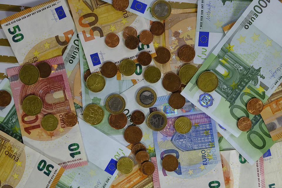 Money, Bank Note, Coins, Euro, Save, Savings, Expensive