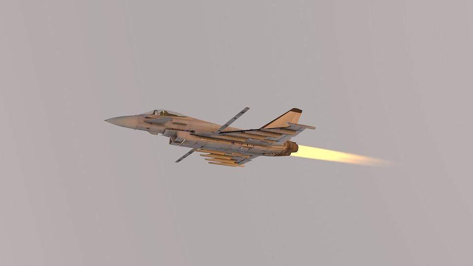 Free photo Eurofighter Typhoon Aircraft Plane Jet Plane - Max Pixel