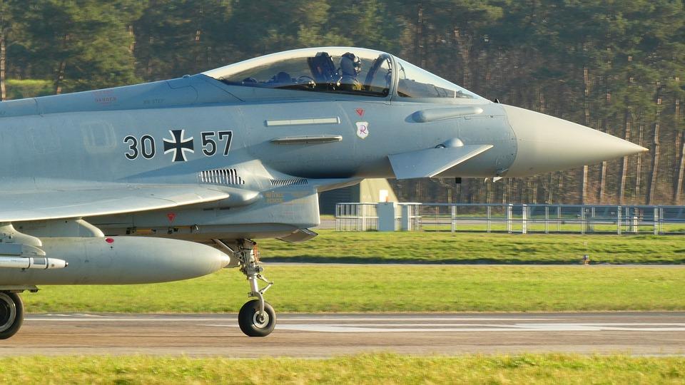 Typhoon, Bundeswehr, Aircraft, Eurofighter