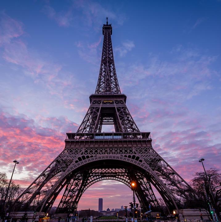Eiffel Tower, Paris, Architecture, Famous, Europe