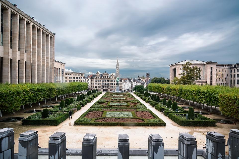 Brussels, Europe, Belgium, Bruxelles, Mont Des Arts