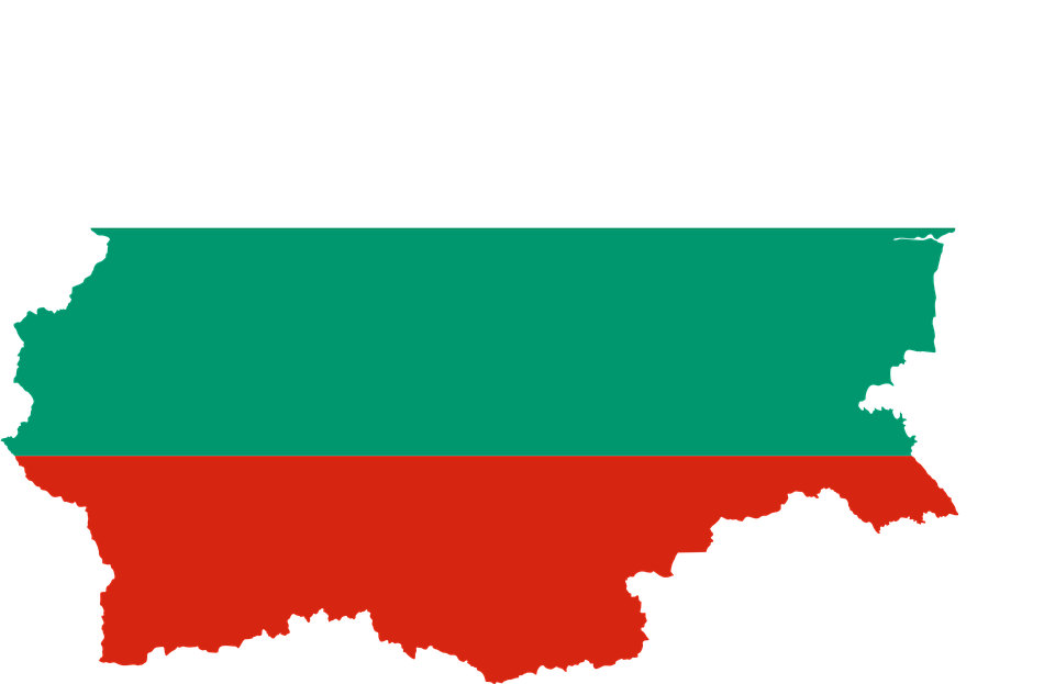 Bulgaria, Country, Europe, Flag, Borders, Map, Nation