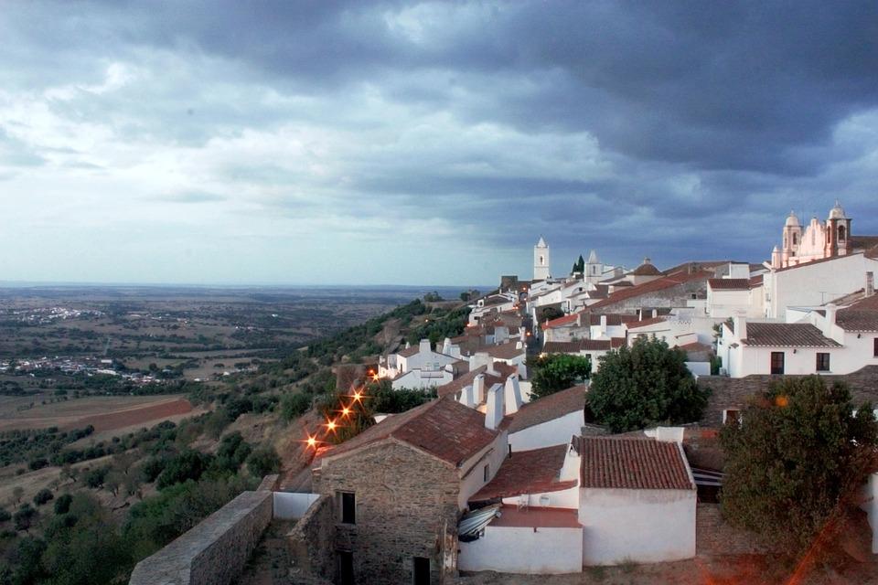 Monsaraz, Castle, Portugal, Alentejo, Europe, Tourism