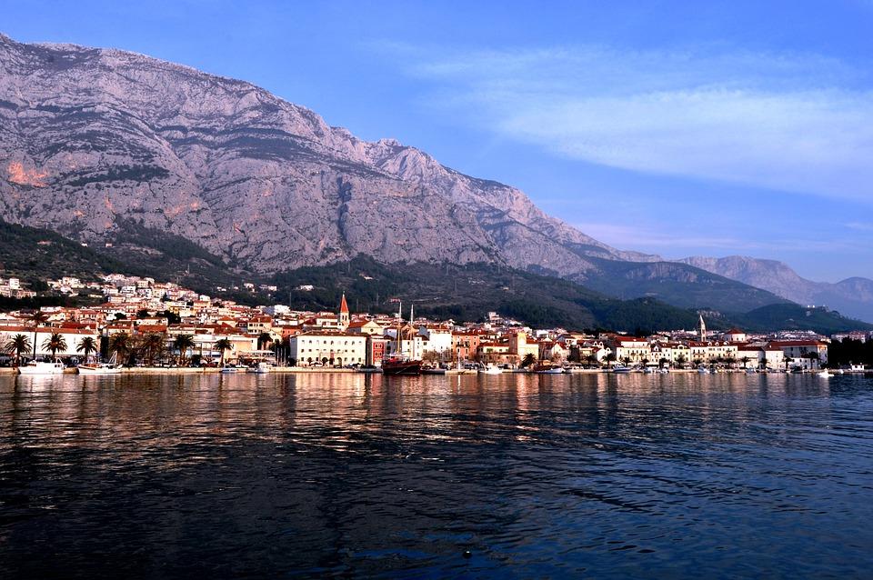 Makarska, Croatia, Europe, Dalmatia, Adriatic, Sea