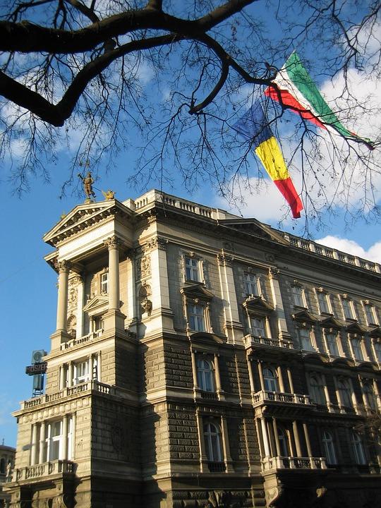 Budapest, Flag, Hungary, Europe