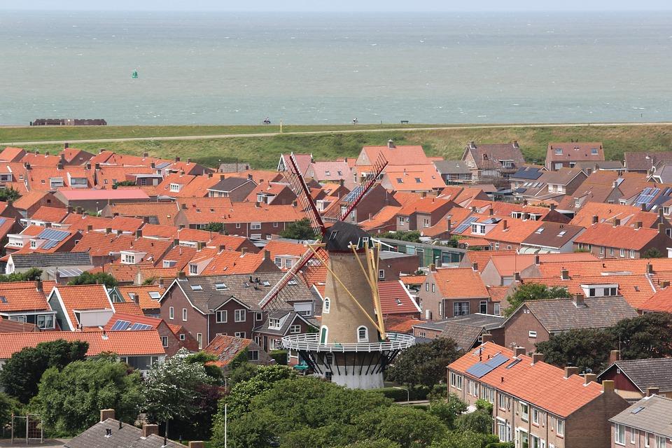 Mill, Village, Old, Tourism, Landmark, Europe