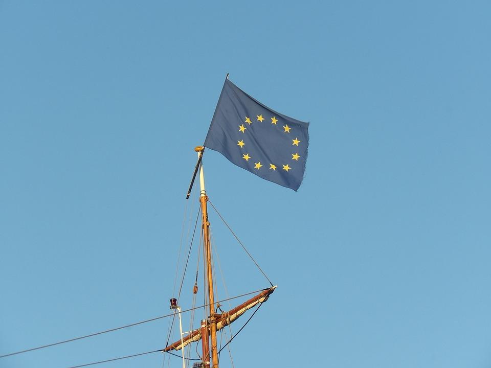 Mast, Flag, Europe