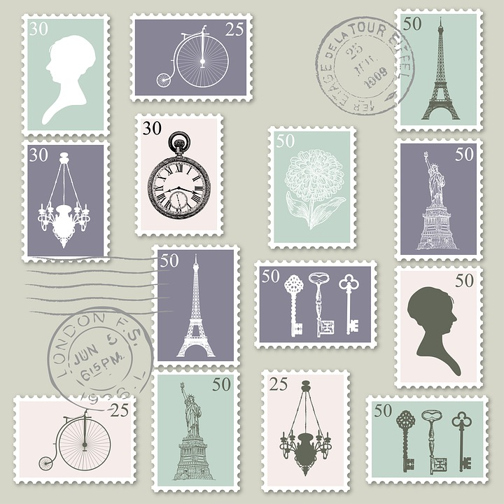 Postage, Stamps, Postage Stamps, Postmark, Europe
