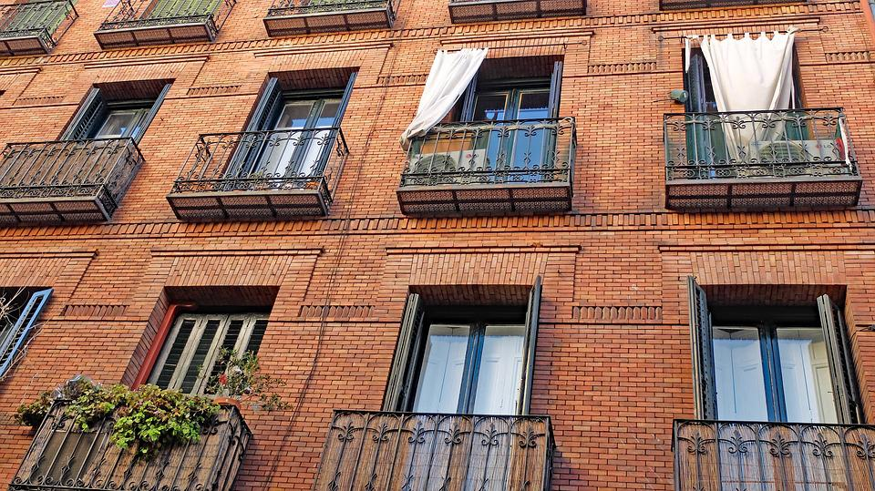 City, Madrid, Spain, Europe, Architecture, Building