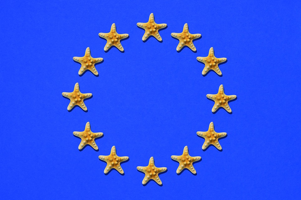 Europe, Eu Flag, Europe Flag, Flag, Blue, Star
