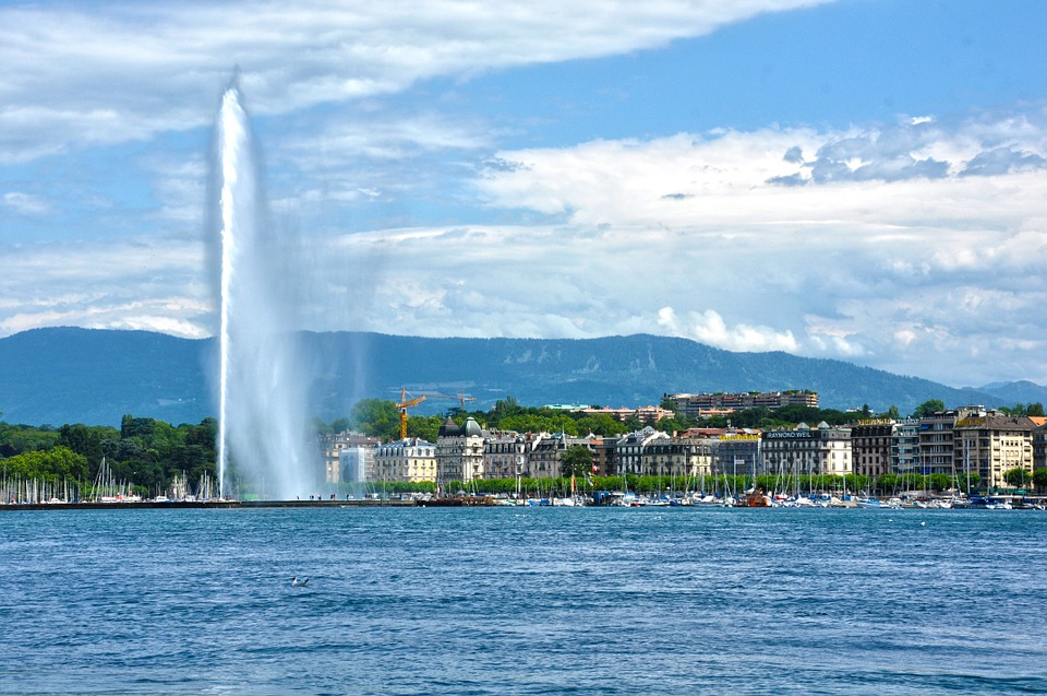Geneva, Switzerland, Europe, Swiss, European, Lake