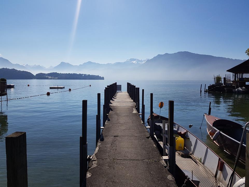 Lakelucerne, Switzerland, Europe, Landscape, Lucerne