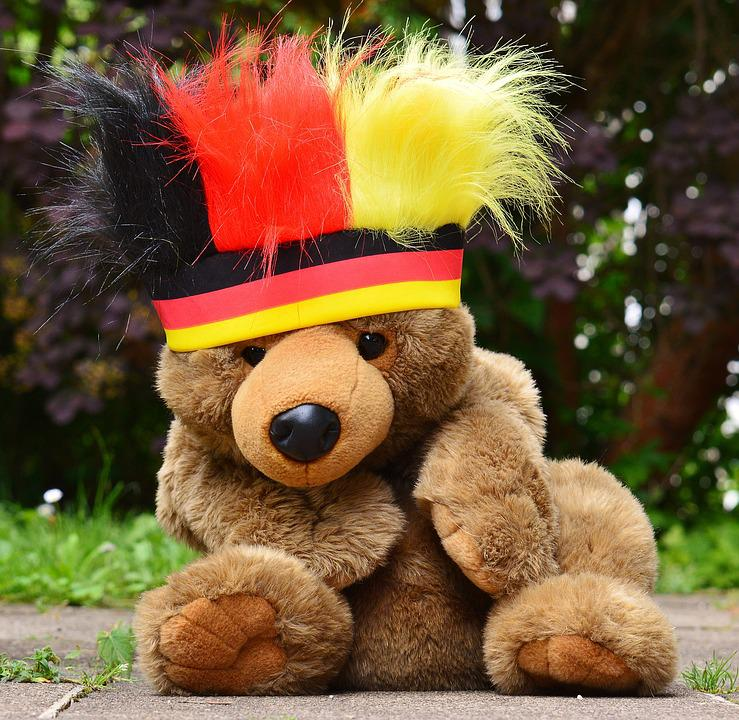 European Championship, Football, 2016, Germany, Teddy