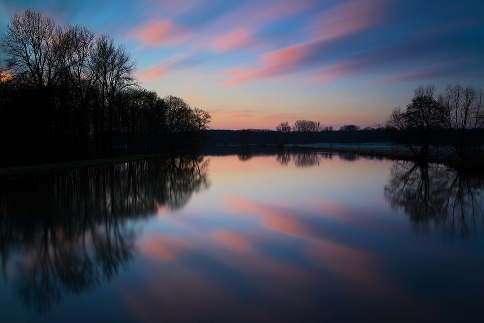 Twilight, Long Exposure, Evening, Abendstimmung, Sky