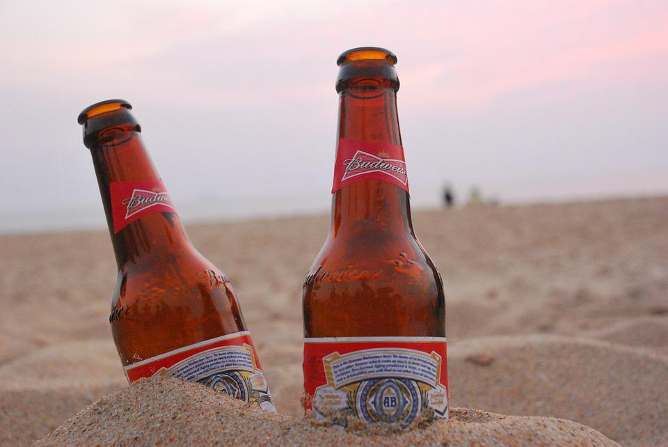 Beer, Evening, Sky, Sand, Alcohol, Friendship