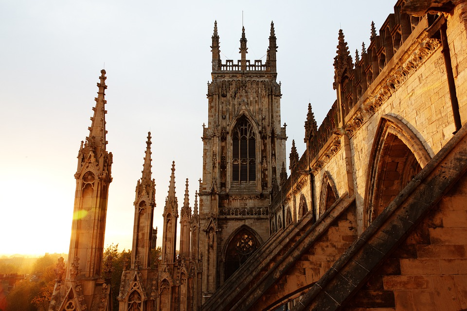 Architecture, Cathedral, Church, City, Dusk, Evening