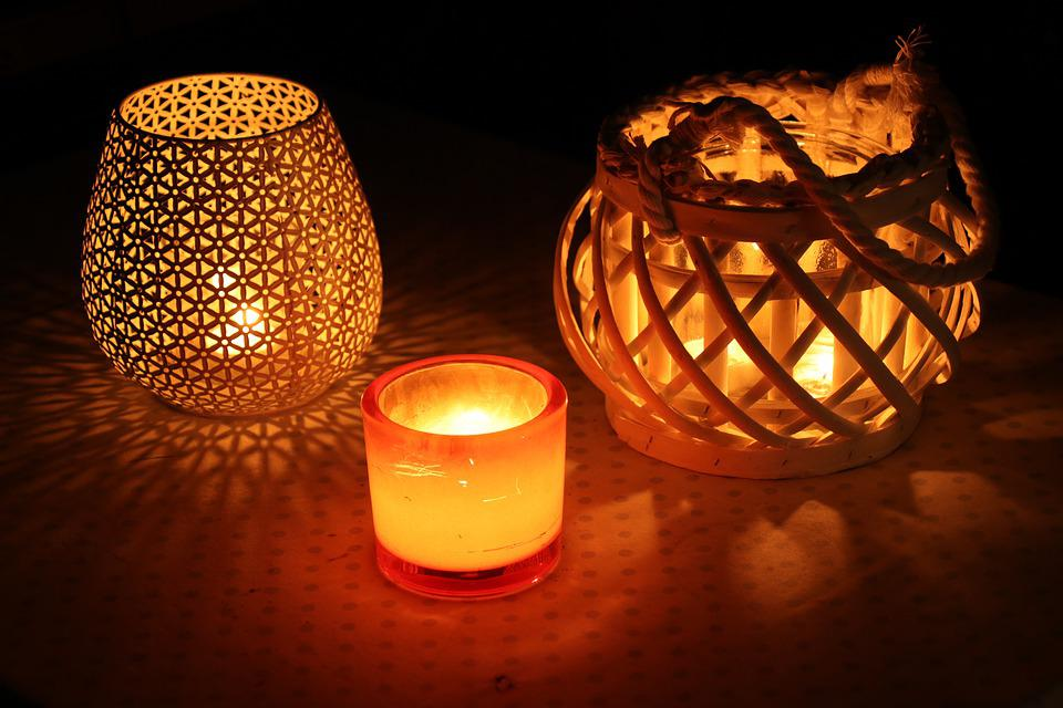 Candles, Candlelight, Evening, Romance, Decoration