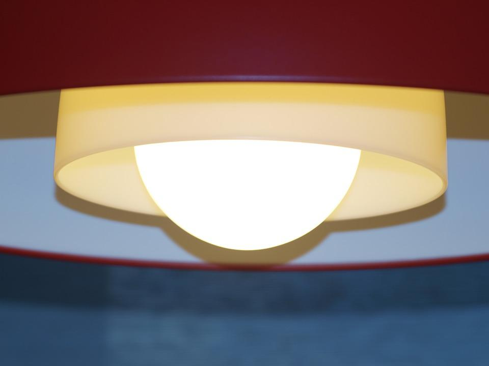 Lamp, Light, Circles, Evening, Chandelier